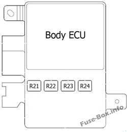 Body ECU: Toyota FJ Cruiser (2006-2015)