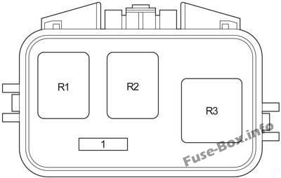 ABS Relay Box: Toyota Highlander (2001, 2002, 2003, 2004, 2005, 2006, 2007)